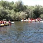 Actividades de despedidas de solltera y Despedidas de soltero en Salamanca piraguas