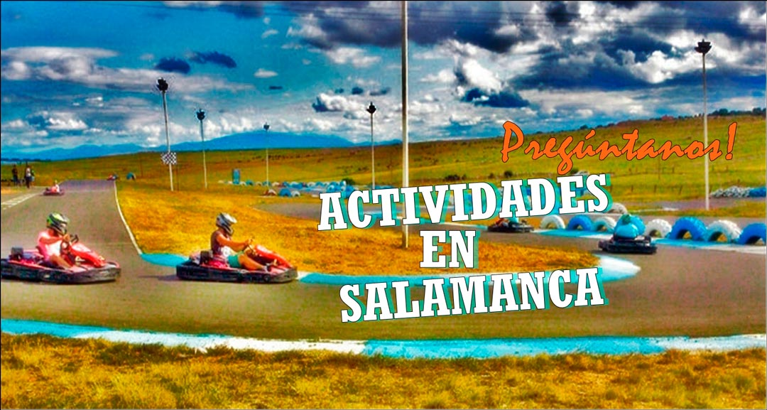 Actividades de despedidas de solltera y Despedidas de soltero en Salamanca